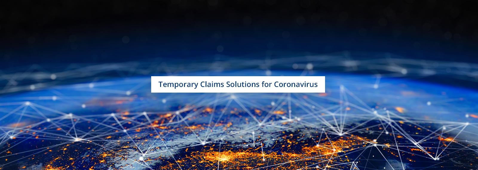 Temporary Claims Solutions for Coronavirus at Robertson and Co - Investigation and intelligence services